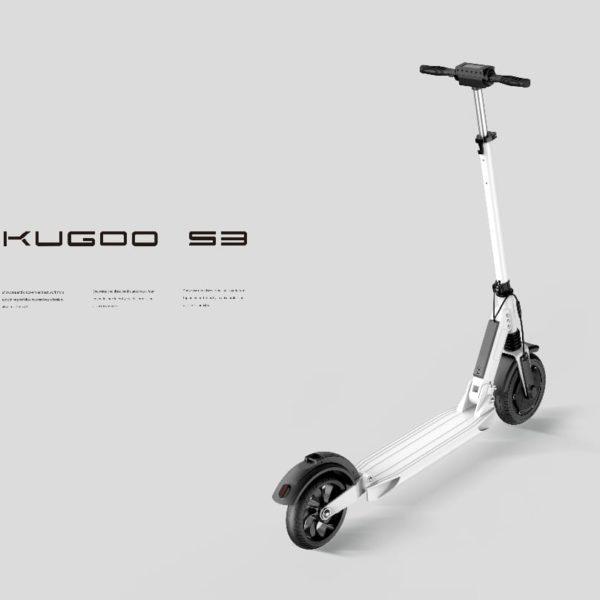 Электросамокат Kugoo S3 8.8 Ah белый