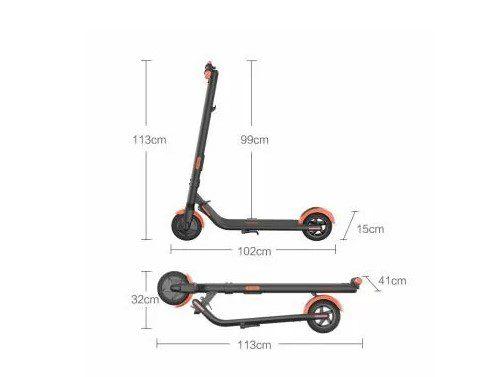 Электросамокат Ninebot ES1L (Black/черный)